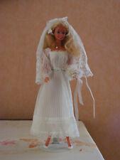 BARBIE  vetements vintage  n° 1416 wedding party 1979