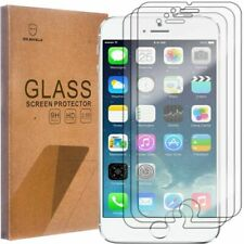 Mr Shield Tempered Glass Screen Protector for Apple iPhone 6 (Pack of 3)