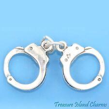 Esposas de plata esterlina 925 Encanto Colgante//portador del grano-policía