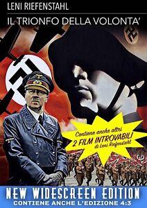Il Trionfo Della Volontà (1935) - Widescreen Ed. - Collezione 3 Film **NUOVO**