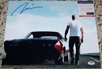 SALE! FAST AND THE FURIOUS! Vin Diesel Signed Autographed 11x14 Photo PSA COA!