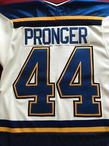 St. Louis Blues Chris Pronger Jersey, Size Small
