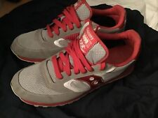 New listing Men's Saucony Jazz Original 1898 Sneakers Shoes Grey White Red XT 600 Size 12