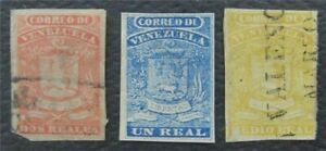 nystamps Venezuela Stamp Used Early Stamps   O15x1312