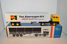 Lion Car No 36 Daf 2800 Van Amerongen BV truck with trailer near mint in box