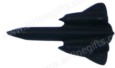 13281 B2 SR71 BLACKBIRD AIRCRAFT PLANE AVIATION 3D PIN BADGE