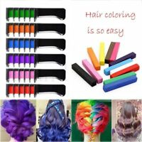 Use Temporary Hair Color Chalk Hair Styling Mini Hair Dye Comb Disposable Hot