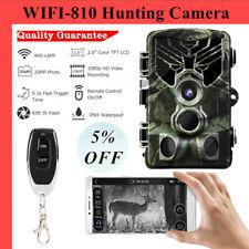 20MP Wireless Wifi 810 Hunting Camera Night Vision 1080P APP Remote Waterproof #