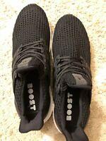 Men's ADIDAS UltraBoost Ultra Boost 4.0 Running Sneaker Black BB6166 - Size 10.5