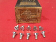 NOS 30s 40s Chevrolet Deluxe Master Water Pump / Engine Front Plate Bolts 133822