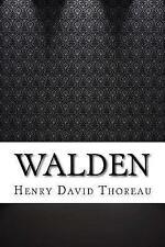 Walden by Thoreau, Henry David 9781544811468 -Paperback