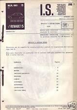 Fascicoli Informazioni Servizio Renault 5 Alpine Turbo 122B
