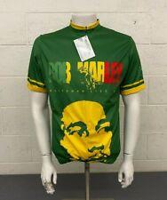 Ride 7b Bob Marley Rastaman Live Up 3/4-Zip Cycling Bike Jersey Men's Large NEW