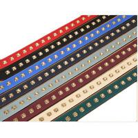 Wide Rivet Purse Leather Shoulder Crossbody Handle Handbag Bag Strap Replacement