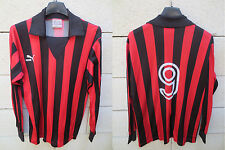 VINTAGE Maillot OGC NICE porté n°9 PUMA trikot 80's shirt football les Aiglons