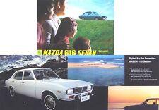 Mazda 616 Saloon 1970-1971 Original UK Sales Brochure Pub. No. A47007N100-159
