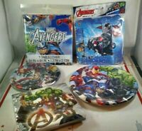 The Avengers Birthday Party Decoration Supplies Kit Marvel Decorating Lot Boys
