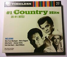 NEW SEALED 20 FAMOUS TIMELESS THE BEST #1 COUNTRY HITS 2 CD Various Artists 2007