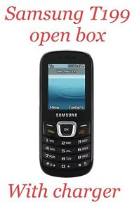Samsung SGH -T199 - Black (T-Mobile) Candy bar Phone any T-MOBILE NETWORK (only)