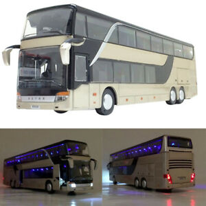Kids Bus Toys Bus Model Toy Simulated Bus Model Kids Birthday Gifts