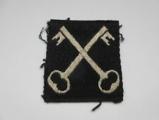 2nd infantry division  crossed keys cloth formation patch   A