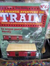 TRAIN SNCF HACHETTE ECHELLE O WAGON POSTAL N°44  NEUF