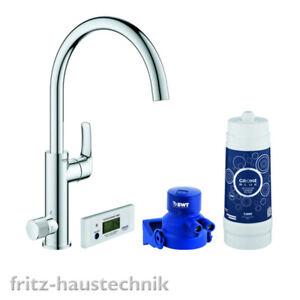 Grohe Blue Pure Eurosmart Küchenarmatur Spültischarmatur Starter Kit C- Auslauf