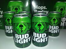 Bud Light Alien Area 51 Special Edition Cans
