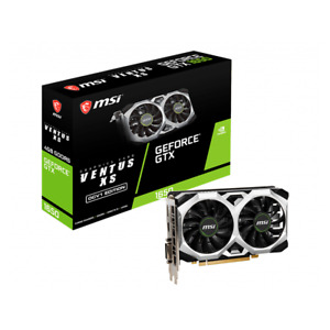 MSI GTX 1650 D6 VENTUS XS OCV1 Gaming GeForce GTX 1650 4GB GDDR6 Graphics Card