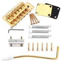 Tremolo per Chitarra Elettrica con Placca per Collo Accessori per Strumenti S6D7