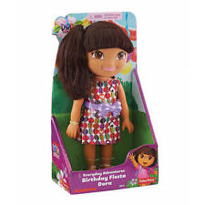 DORA THE EXPLORER EVERYDAY ADVENTURES BIRTHDAY FIESTA DORA W/ REALISITC HAIR NU