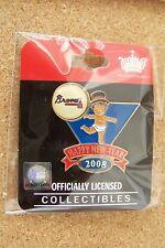2008 Atlanta Braves Baby New Year's lapel pin
