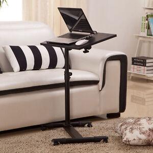 Adjustable Portable Lazy Breakfask Table Desk Stand Sofa Bed Laptop Computer UK