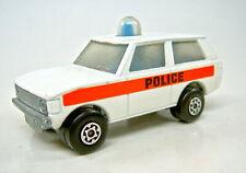 """Matchbox Superfast Nr.20B Police Patrol weiß """"Police"""" BLAUE Leuchte"""