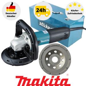 Makita PC5010C Betonschleifer Schleifen Schleifer 125 mm inkl.Schleifscheibe