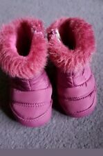 Baby DKNY snow winter boots size 1.5