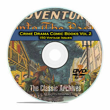 Crime Drama, Suspense, Vol 2, Brenda Starr, Famous, Golden Age Comics DVD D75