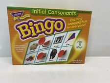 Initial Consonants Bingo- Phonics Teaching Game 3-36 Player Educational 2002
