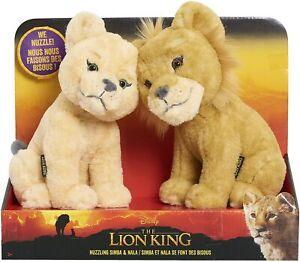 Disney The Lion King Nuzzling Simba & Nala Soft Plush Cuddly Toy LIMITED EDITION