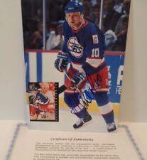 Alexei Zhamnov Autographed Winnipeg Jets 8 X 10 Photo COA Nice Autograph!