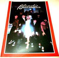 Vintage 1979 Mint Con Blondie & Debbie Harry US Souvenir Concert Tour Programme
