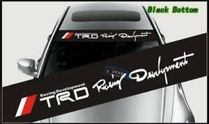 TRD Racing Development Sticker Car Decal Vinyl Racing Car Sticker Decoration New