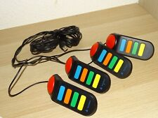 Sony PS2/PS3 Buzz Quiz Buzzer  USB Kabel bis 4 Personen