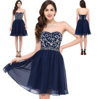 New Short Prom Party Bridesmaid Formal Evening Ball Gown Cocktail Wedding Dress