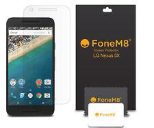 Pack de 5 véritable fonem8 Protections d' ÉCRAN POUR 2015 LG Nexus 5 X