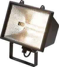 Unbranded halogen 1 light outdoor floodlights spotlights ebay 1000w black halogen floodlight garden security light enclosed ip54 free bulb workwithnaturefo