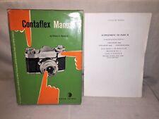 Contaflex Manual - Edward Bomback - 1958