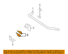 MERCEDES OEM ML350 Stabilizer Sway Bar-Front-Bushings 1643231185