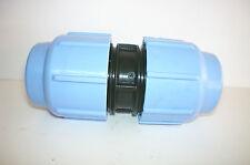 Manicotto da 32 a compressione per tubi polietilene PP PN16 irrigazione 32x32