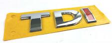 VW TDI Schriftzug Emblem Logo Schriftzug selbstklebend 5G0853675F ROT